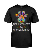 SEWING AND DOGS Classic T-Shirt front