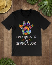 SEWING AND DOGS Classic T-Shirt lifestyle-mens-crewneck-front-18