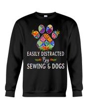 SEWING AND DOGS Crewneck Sweatshirt thumbnail