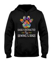 SEWING AND DOGS Hooded Sweatshirt thumbnail