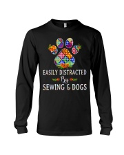 SEWING AND DOGS Long Sleeve Tee thumbnail