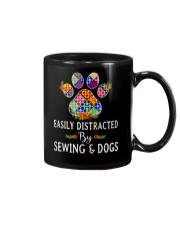 SEWING AND DOGS Mug thumbnail