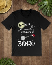 AII I WANT CHRISTMAS IS BANJO Classic T-Shirt lifestyle-mens-crewneck-front-18