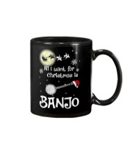 AII I WANT CHRISTMAS IS BANJO Mug thumbnail