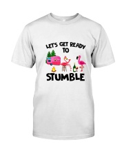 CAMPING STUMBLE Classic T-Shirt front