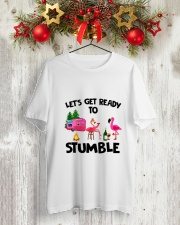 CAMPING STUMBLE Classic T-Shirt lifestyle-holiday-crewneck-front-2