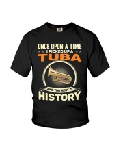 I PICK UP A TUBA Youth T-Shirt thumbnail