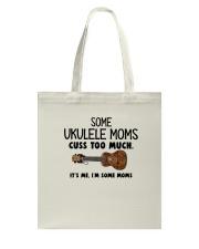 UKULELE MOMS CUSS Tote Bag thumbnail