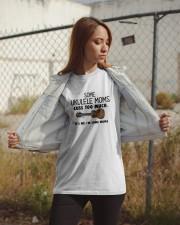 UKULELE MOMS CUSS Classic T-Shirt apparel-classic-tshirt-lifestyle-07