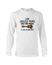 UKULELE MOMS CUSS Long Sleeve Tee thumbnail