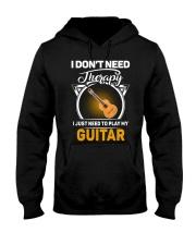 THERAPY PLAY MY GUITAR Hooded Sweatshirt thumbnail