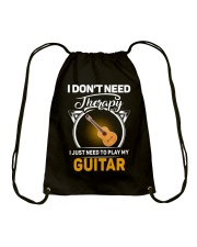 THERAPY PLAY MY GUITAR Drawstring Bag thumbnail