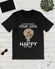 HIPPIE SOUL HAPPY Classic T-Shirt lifestyle-mens-crewneck-front-17