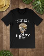 HIPPIE SOUL HAPPY Classic T-Shirt lifestyle-mens-crewneck-front-18