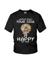 HIPPIE SOUL HAPPY Youth T-Shirt thumbnail