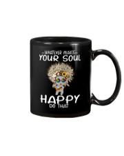 HIPPIE SOUL HAPPY Mug thumbnail