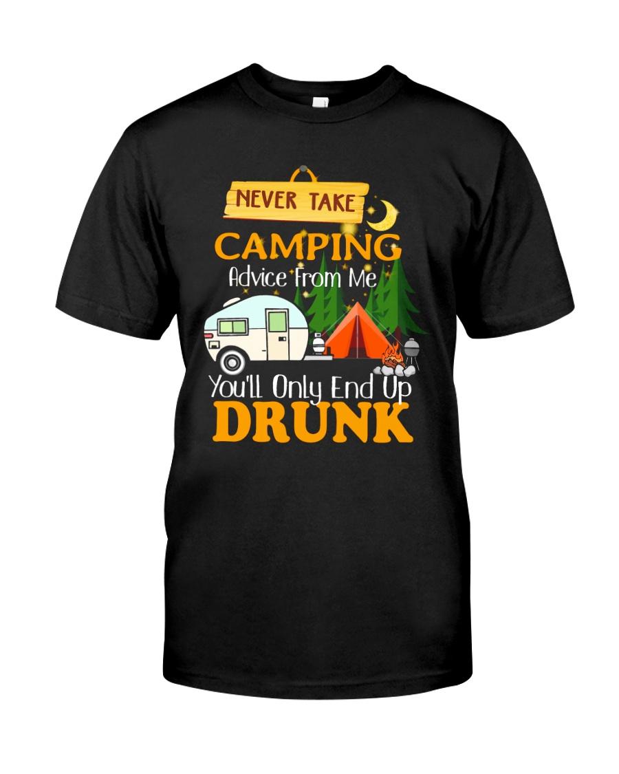 TAKE CAMPING DRUNK Classic T-Shirt