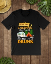 TAKE CAMPING DRUNK Classic T-Shirt lifestyle-mens-crewneck-front-18