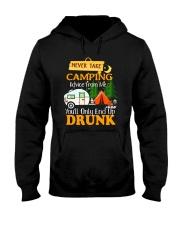TAKE CAMPING DRUNK Hooded Sweatshirt thumbnail