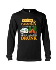 TAKE CAMPING DRUNK Long Sleeve Tee thumbnail
