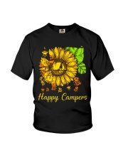 SUNFLOWER HAPPY CAMPERS Youth T-Shirt thumbnail