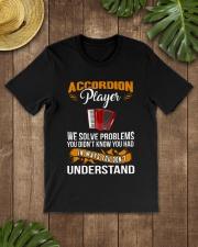 ACCORDION PLAYER SOLVE PROBLEMS Classic T-Shirt lifestyle-mens-crewneck-front-18