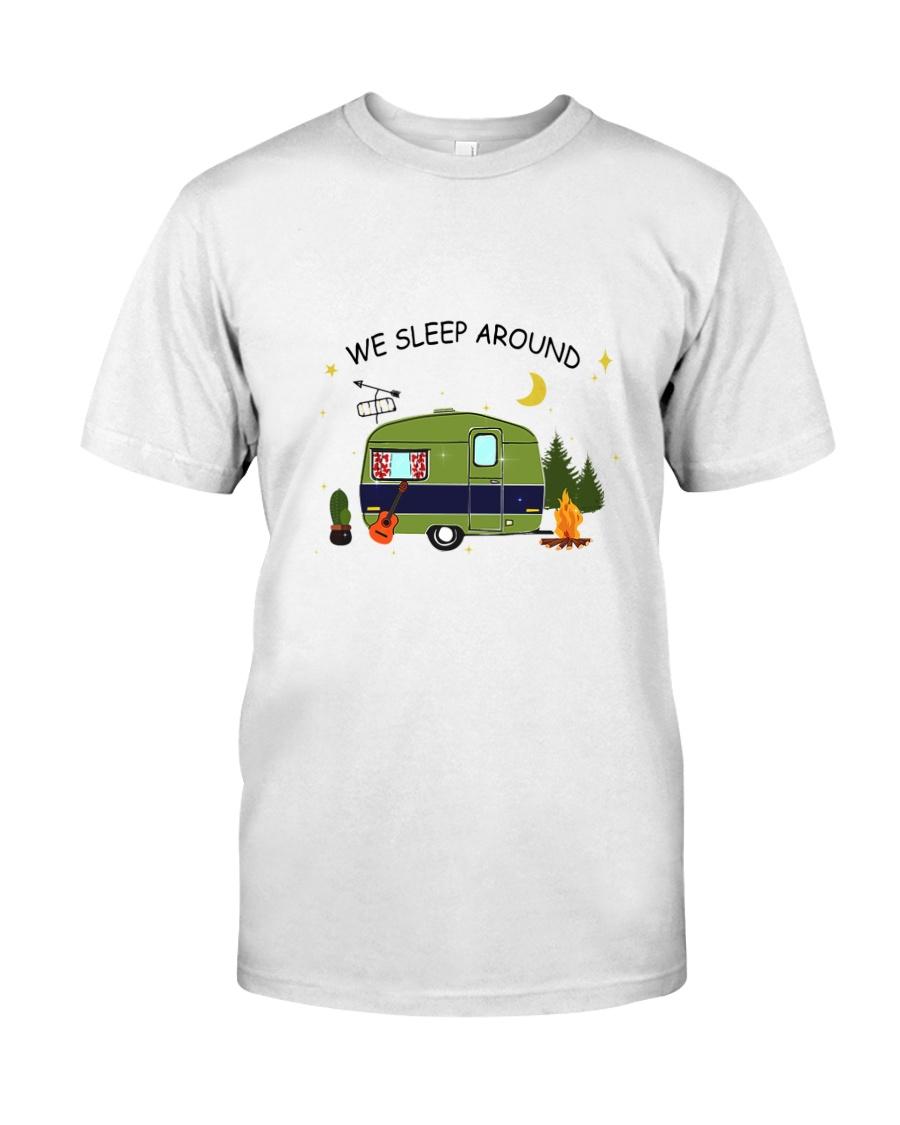 CAMPING SLEEP AROUND Classic T-Shirt