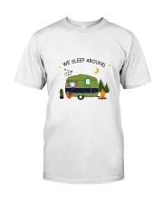 CAMPING SLEEP AROUND Classic T-Shirt front