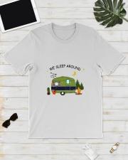 CAMPING SLEEP AROUND Classic T-Shirt lifestyle-mens-crewneck-front-17