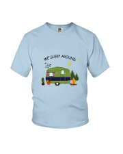 CAMPING SLEEP AROUND Youth T-Shirt thumbnail