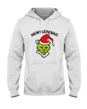 MEOWY GRINCHMAS Hooded Sweatshirt thumbnail