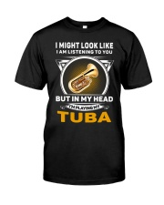 IN MY HEART TUBA Classic T-Shirt front