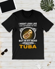 IN MY HEART TUBA Classic T-Shirt lifestyle-mens-crewneck-front-17