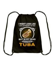 IN MY HEART TUBA Drawstring Bag thumbnail