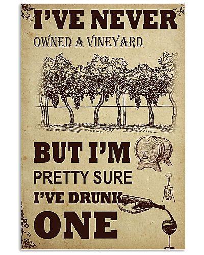 WINE I DRUNK ONE