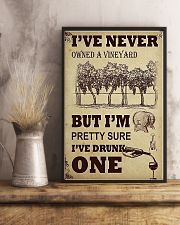 WINE I DRUNK ONE 11x17 Poster lifestyle-poster-3