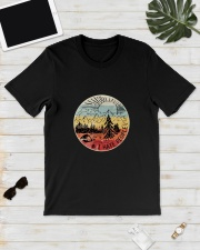 HATE PEOPLE CAMPING Classic T-Shirt lifestyle-mens-crewneck-front-17