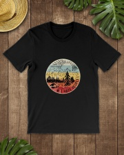 HATE PEOPLE CAMPING Classic T-Shirt lifestyle-mens-crewneck-front-18