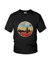 HATE PEOPLE CAMPING Youth T-Shirt thumbnail