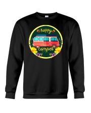 CAMPING HAPPY Crewneck Sweatshirt thumbnail