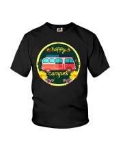CAMPING HAPPY Youth T-Shirt thumbnail