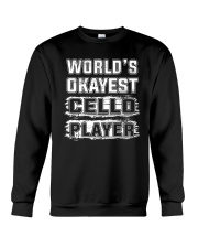 WORLD OKAYEST CELLO Crewneck Sweatshirt thumbnail