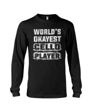 WORLD OKAYEST CELLO Long Sleeve Tee thumbnail