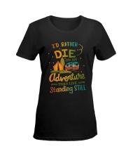 CAMPING ADVENTURE Ladies T-Shirt women-premium-crewneck-shirt-front