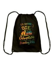 CAMPING ADVENTURE Drawstring Bag thumbnail