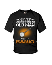 OLD MAN WITH A BANJO Youth T-Shirt tile