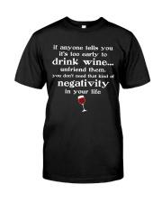 WINE NEGATIVITY Classic T-Shirt front