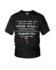 WINE NEGATIVITY Youth T-Shirt thumbnail