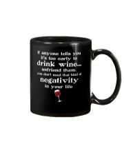 WINE NEGATIVITY Mug thumbnail