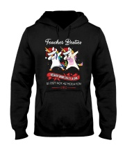 TEACHER BESTIES Hooded Sweatshirt thumbnail